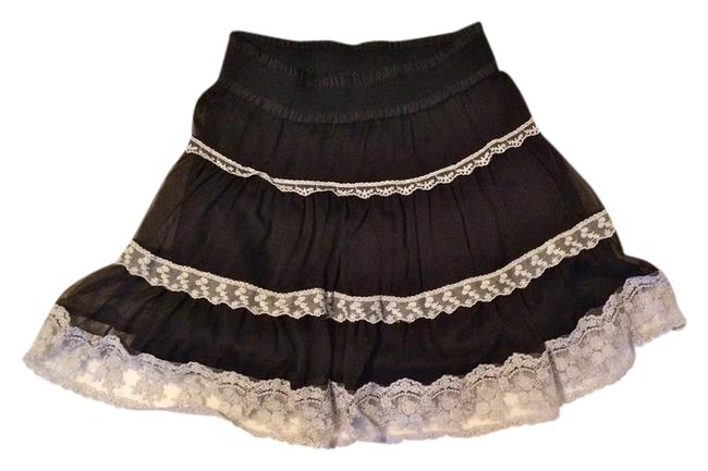Item - Black/Cream Skirt Size 4 (S, 27)