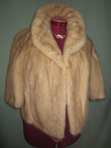 Mink Short Jacket Blonde