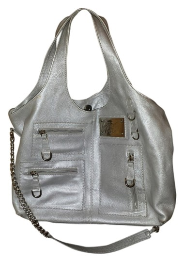 Giana made in Italy Tote in silver