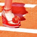 Charlotte Olympia Red Wedges Image 11