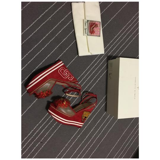 Charlotte Olympia Red Wedges Image 2