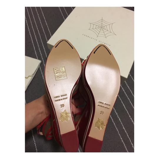 Charlotte Olympia Red Wedges Image 6