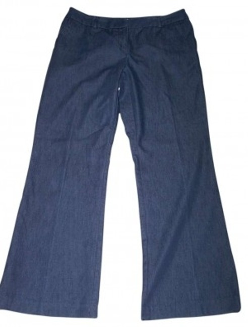 Preload https://item3.tradesy.com/images/christopher-and-banks-dark-blue-low-rise-light-weight-jeans-flared-pants-size-10-m-31-137057-0-0.jpg?width=400&height=650