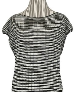M Missoni short dress Black and White Stretchy Bodycon Knee Length on Tradesy