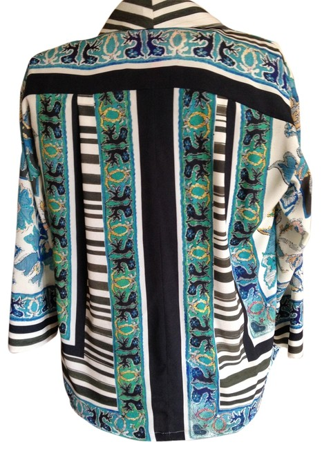 Clover Canyon Jacket Club Polyester No Wrinkle Statement Dress Up Or Wear With Jean #25681 Cardigan