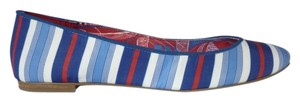 Nine West Flat Blue, White & Red Flats