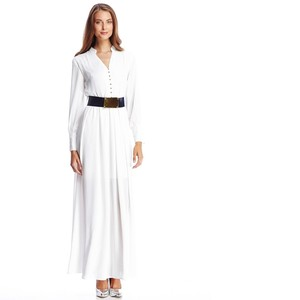 white Maxi Dress by Gracia