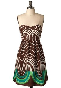 Max and Cleo Silk Flowy Party Dress