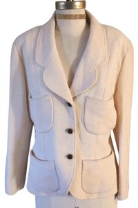 Chanel Jacket Signature Vintage cream Blazer