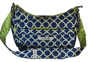 JuJube Hobo Hobobe Messenger Royal Envy Diaper Bag