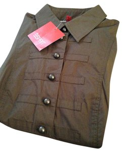 Esprit Button Down Shirt Brown