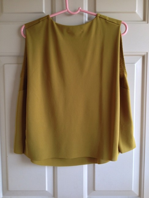 Zara Top golden olive