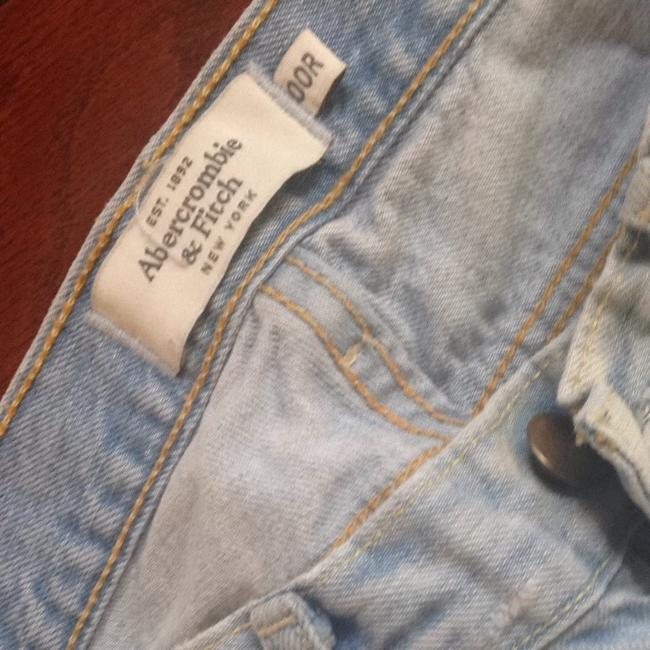Abercrombie & Fitch Straight Leg Jeans-Light Wash Image 6