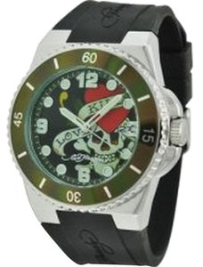 Ed Hardy Ed Hardy Male Fusion Love Kills Watch FU-LK Black Analog