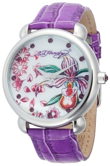 Ed Hardy Ed Hardy Female Garden Purple Watch GN-PU Purple Analog