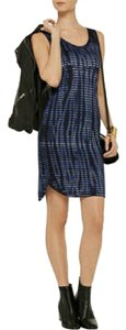 Kain Label short dress Black/Blue Tie Dye Tank on Tradesy