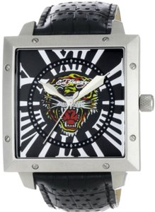 Ed Hardy Ed Hardy Male Defender Tiger Watch DE-TG Black Analog