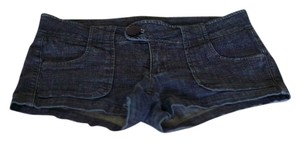 Other Demin Blue Juniors Womens Mini/Short Shorts Denim