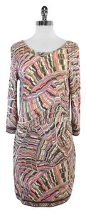 Trina Turk short dress Multi Color Print Long Sleeve on Tradesy