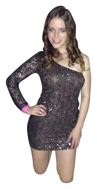 Ark & Co. Sequin New Year One Shimmer Glamour Sparkley Dress