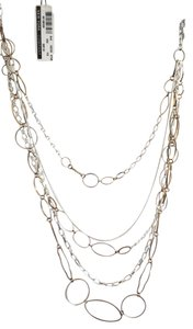 New York & Company New York & Company Metallic Stranded Necklace