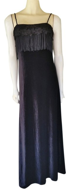 Papell Boutique Evening Gown Ball Gown Velvet Dress