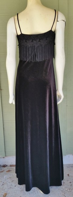 Papell Boutique Evening Gown Ball Gown Velvet Dress Image 2