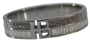 Henri Bendel HENRI BENDEL DECO SPLIT CRYSTAL BANGLE