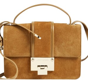 Jimmy Choo Suede Leather Cross Body Bag