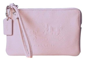 Coach Wristlet in Blush/Light Pink
