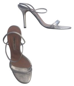 Charles David Stiletto Dancing Silver Sandals