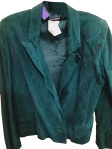 Mario Valentino Sz 42 Mario Valentino made in Italy suede two piece skirt suit