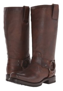 Frye Harness Equestrian Women Riding Size 9.5 M brown Boots