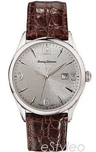 Tommy Bahama Tommy Bahama Men Croc Embossed Leather Watch Swiss Quartz Brown Tb1113
