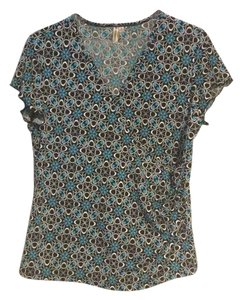 Susan Lawrence Top black/white/polyester