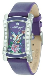 Ed Hardy Ed Hardy Female Oasis Watch OA-SY Purple Analog