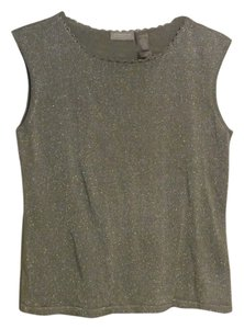 Liz Claiborne Top grey/silver