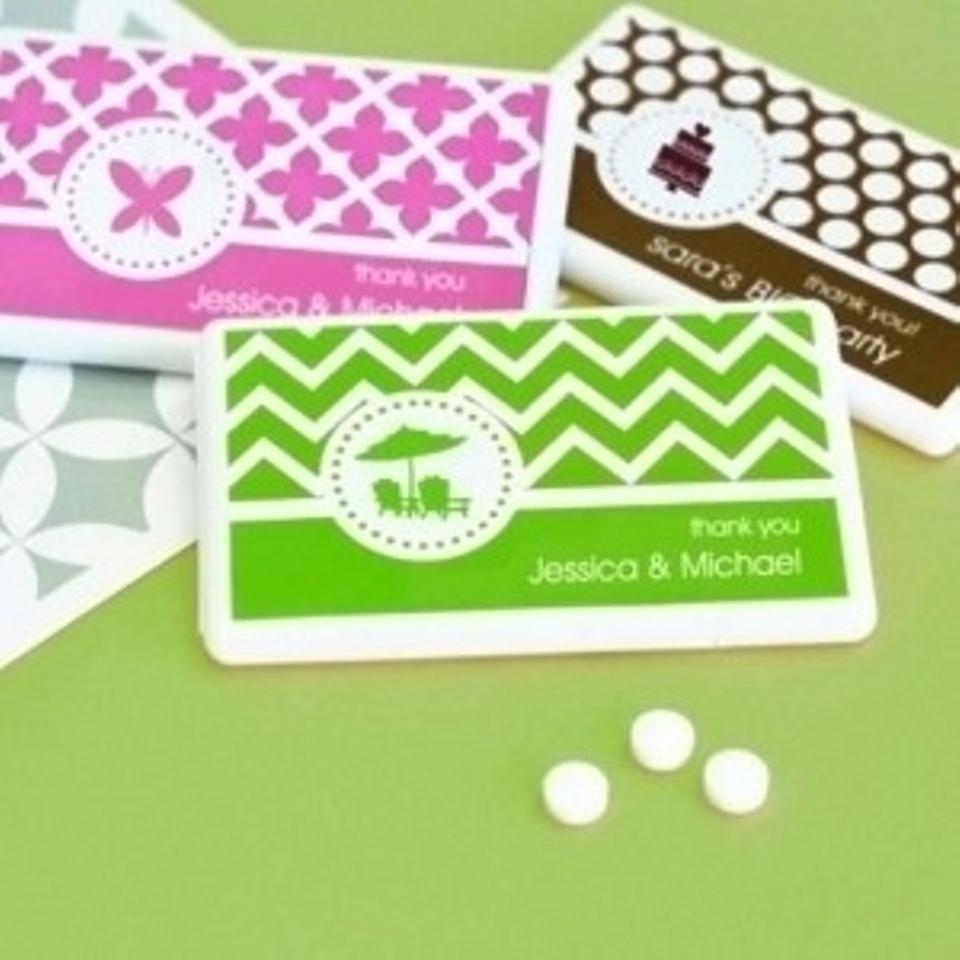 Beaucoup White 150 Or Occasion Mini Mint Packs Wedding Favors Tradesy