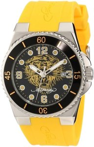 Ed Hardy Ed Hardy Female Fusion Watch FU-YTG Yellow Analog