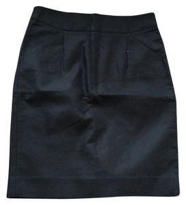 J.Crew Pencil Pockets Skirt black
