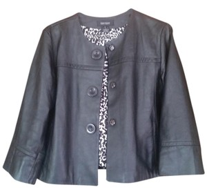 Karen Kane Leather black Leather Jacket