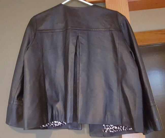 Karen Kane black Leather Jacket