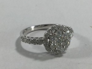 Gabriel & Loren K. 1.30CTW DIAMOND FLOWER RING