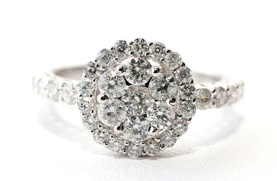 Gabriel & Loren K. Diamond Flower Ring