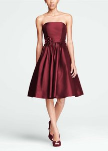 David's Bridal Berry F15410 Dress