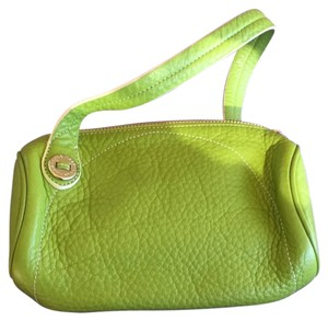 Cole Haan Leather Wristlet in Green