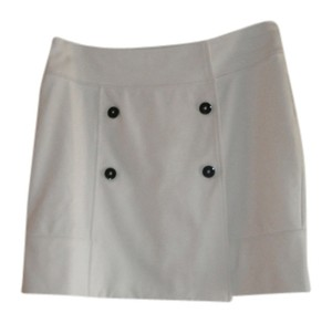 Banana Republic Mini Skirt Winter White