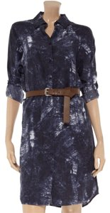 MICHAEL Michael Kors short dress Dark Blue on Tradesy