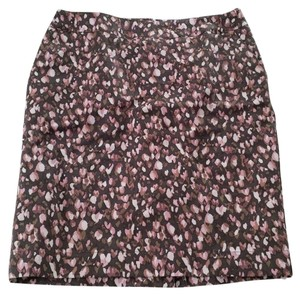 Merona Skirt brown, taupe, pink