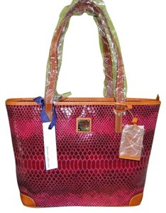 Dooney & Bourke Charleston Leather Embossed Shoulder Bag